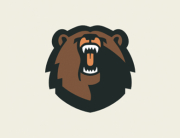 grizzly bear logo 1