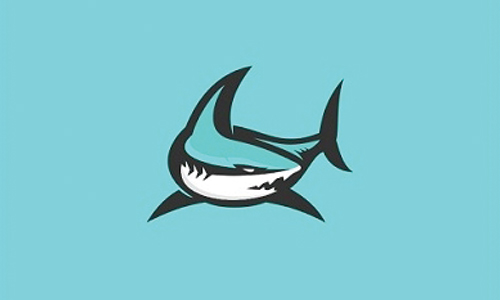 blue shark logo