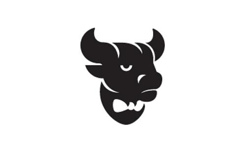 bull bowtie logo