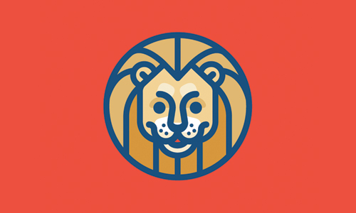 friendly lion logo