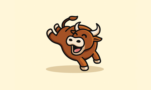 happy bull logo