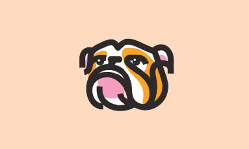 modern bulldog logo