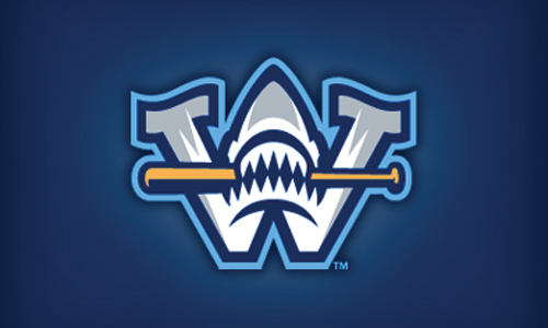 shark baseball logo