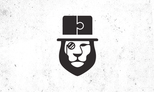 lion top hat logo
