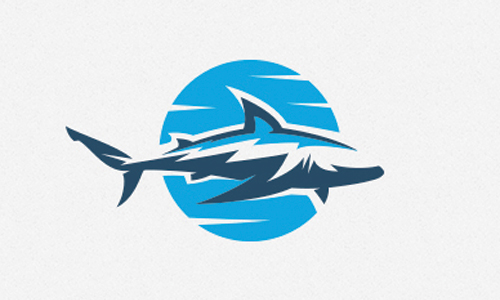 tribal shark logo
